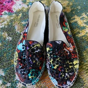 Head Over Heels by Dune colorful espadrilles!
